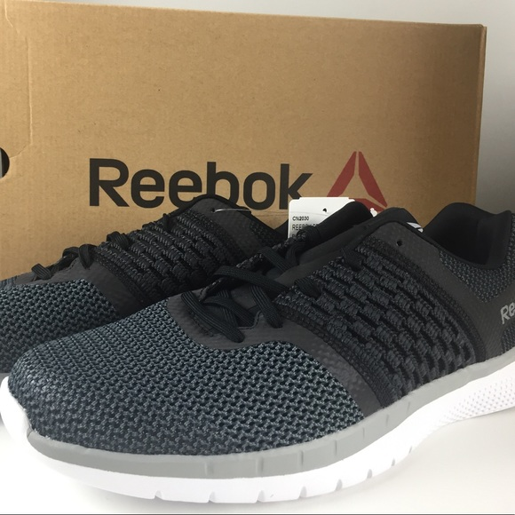 9c04cc86f9cdff Reebok Print Prime Knit Runner Men s Shoes New NIB